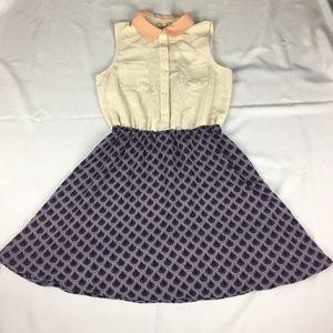 Maison Jules Size Medium Multicolor Dress